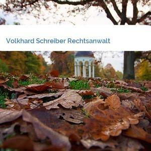 Bild Volkhard Schreiber Rechtsanwalt mittel