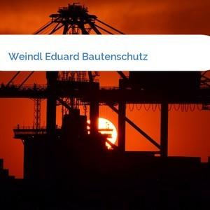 Bild Weindl Eduard Bautenschutz mittel