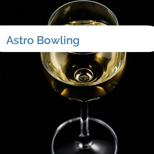 Bild Astro Bowling
