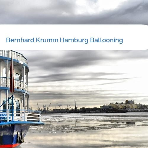 Bild Bernhard Krumm Hamburg Ballooning