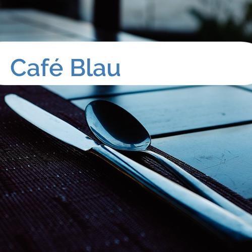 Bild Café Blau