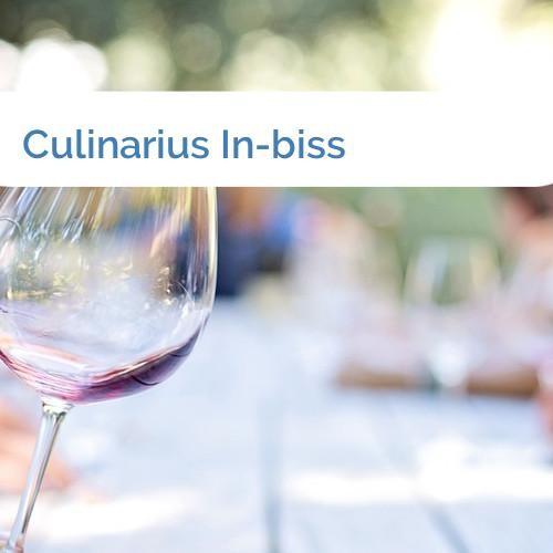 Bild Culinarius In-biss