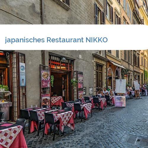 Bild japanisches Restaurant NIKKO