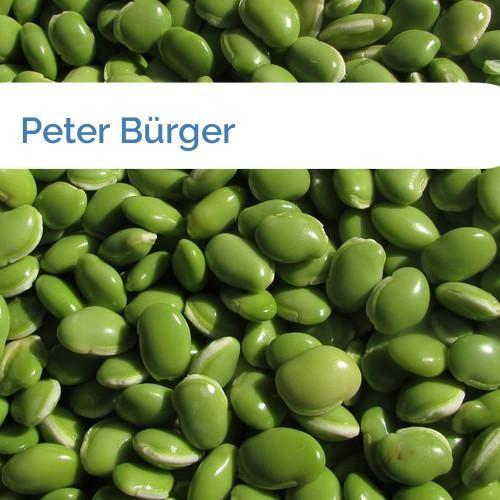 Bild Peter Bürger