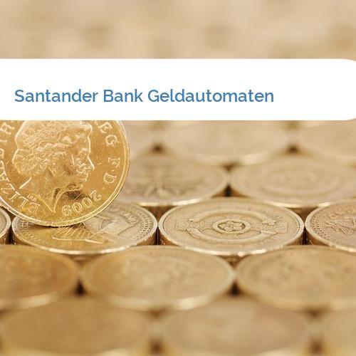 Bild Santander Bank Geldautomaten