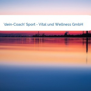 Bild 'dein-Coach' Sport - Vital und Wellness GmbH mittel