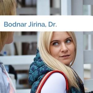 Bild Bodnar Jirina, Dr. mittel