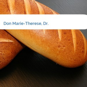Bild Don Marie-Therese, Dr. mittel