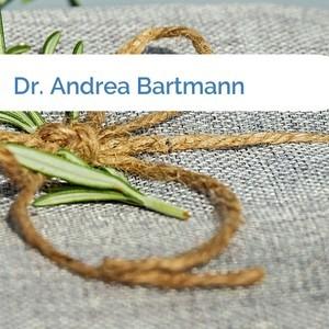 Bild Dr. Andrea Bartmann mittel