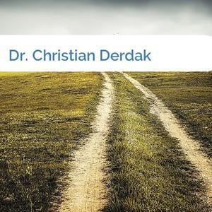 Bild Dr. Christian Derdak mittel