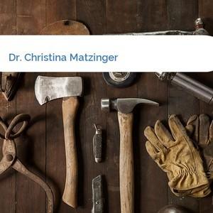 Bild Dr. Christina Matzinger mittel