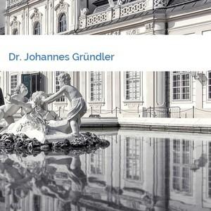 Bild Dr. Johannes Gründler mittel