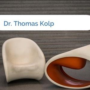 Bild Dr. Thomas Kolp mittel