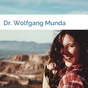 Bild Dr. Wolfgang Munda mittel