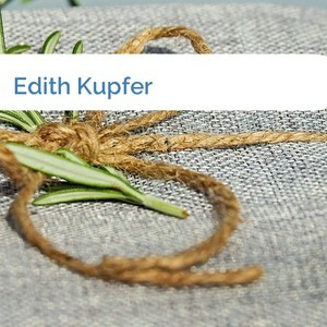 Bild Edith Kupfer mittel
