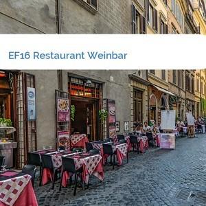Bild EF16 Restaurant Weinbar mittel