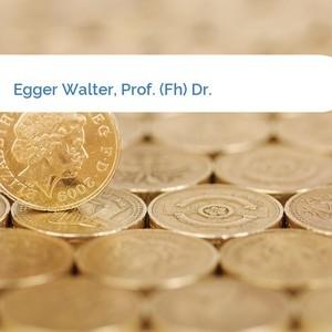 Bild Egger Walter, Prof. (Fh) Dr. mittel