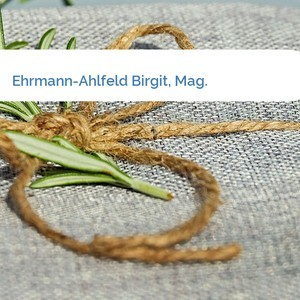 Bild Ehrmann-Ahlfeld Birgit, Mag. mittel