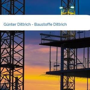 Bild Günter Dittrich - Baustoffe Dittrich mittel