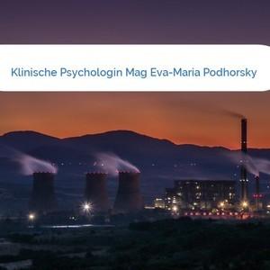 Bild Klinische Psychologin Mag Eva-Maria Podhorsky mittel