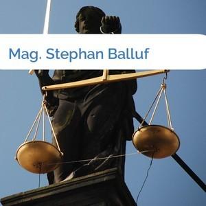 Bild Mag. Stephan Balluf mittel