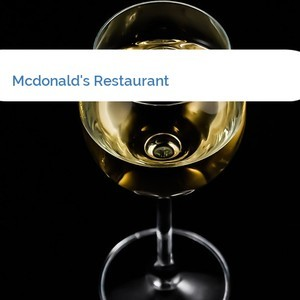 Bild Mcdonald's Restaurant mittel