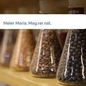 Bild Meier Maria, Mag.rer.nat. mittel