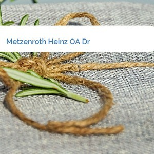 Bild Metzenroth Heinz OA Dr mittel