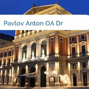 Bild Pavlov Anton OA Dr mittel