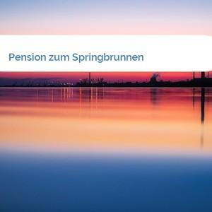 Bild Pension zum Springbrunnen mittel