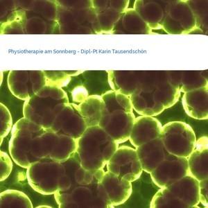 Bild Physiotherapie am Sonnberg - Dipl-Pt Karin Tausendschön mittel