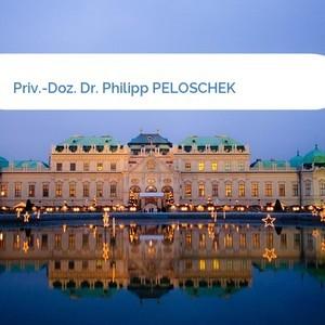 Bild Priv.-Doz. Dr. Philipp PELOSCHEK mittel