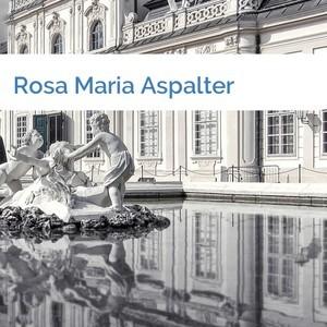 Bild Rosa Maria Aspalter mittel
