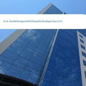 Bild S.o.b. Sanitätsfachgeschäft Orthopädie Bandagist Ges.m.b.h. mittel