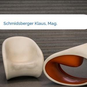 Bild Schmidsberger Klaus, Mag. mittel