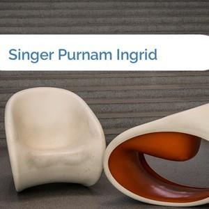 Bild Singer Purnam Ingrid mittel