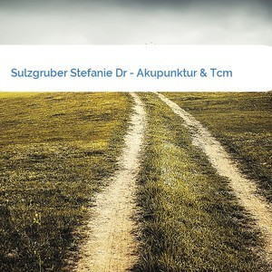 Bild Sulzgruber Stefanie Dr - Akupunktur & Tcm mittel