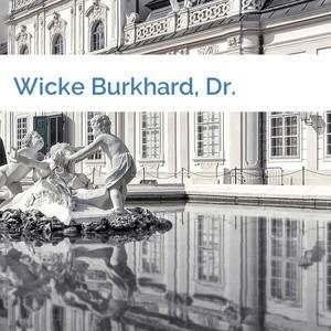 Bild Wicke Burkhard, Dr. mittel