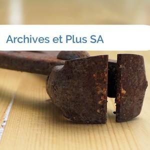 Bild Archives et Plus SA mittel
