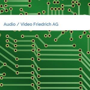 Bild Audio / Video Friedrich AG mittel