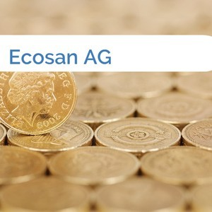 Bild Ecosan AG mittel