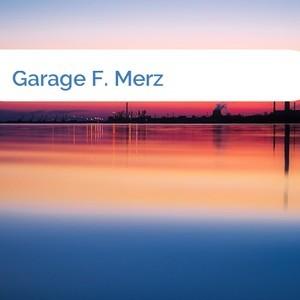 Bild Garage F. Merz mittel