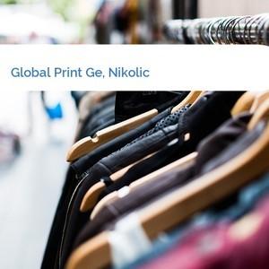 Bild Global Print Ge, Nikolic mittel