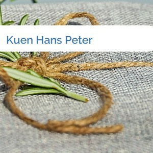 Bild Kuen Hans Peter mittel