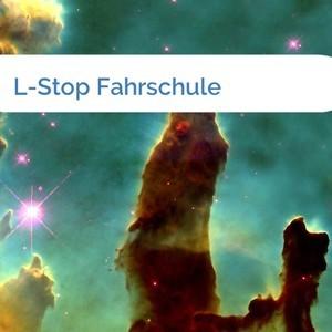 Bild L-Stop Fahrschule mittel