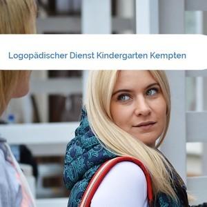 Bild Logopädischer Dienst Kindergarten Kempten mittel