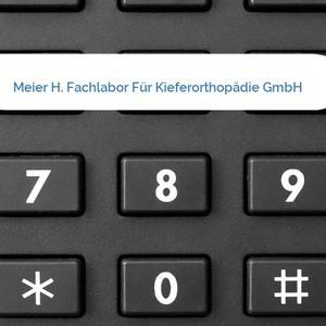 Bild Meier H. Fachlabor Für Kieferorthopädie GmbH mittel