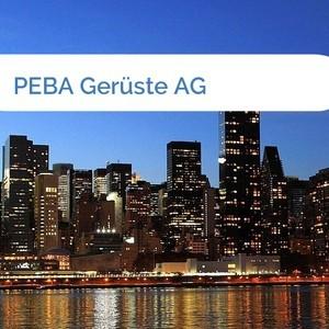 Bild PEBA Gerüste AG mittel