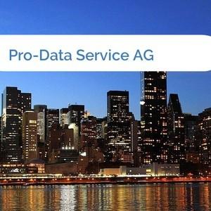 Bild Pro-Data Service AG mittel