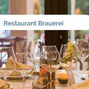 Bild Restaurant Brauerei mittel
